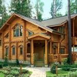 Дом из экологически чистых материалов - хвойный пиломатериал